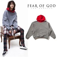 Fear Of God Hoodies Men Women 1:1 High Quality Kanye West Sweatshirts Pullover Fashion Hip H FOG Pullover Fear Of God Hoodies