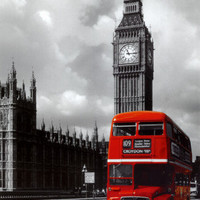 London - Red Bus Prints at AllPosters.com