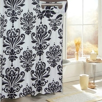 Carnation Home Fashions EZ On Beacon Hill Polyester Shower Curtain