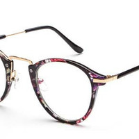 Cupshe Mixed Color Floral Glasses
