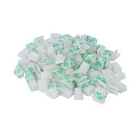 Cable Clips Adhesive Cable Clips Ethernet Cable Clips Wire Holder System 100 Pcs White for Car, Office, Desk Accessories, Home, Nightstand - XINCA Flat CC-100White