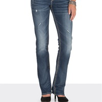 Silver Jeans ® Suki Slim Boot Jeans With Lace - Medium Sandblast