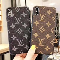 Louis Vuitton Stylish iPhone Phone Cover Case For iphone 6 6s 6plus 6s-plus 7 7plus 8 8plus iPhone 11 iPhone X XR XS XS MAX PRO MAX