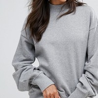 Vero Moda Pleated Sleeve Sweater at asos.com