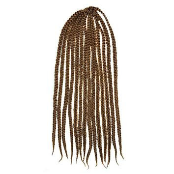 Wig 3 Braids African Hair Extension    27# large