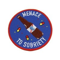 Menace To Sobriety Patch