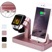 2-in-1 Charging Stand & Dock For Apple Watch & Apple iPhone