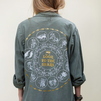 LOOK TO THE STARS // VTG ARMY JACKET « Sugarhigh Lovestoned