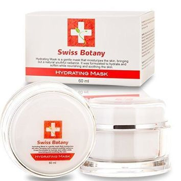 Natural Hydrating Mask Deep Skin Nourishment To Reduce Fine Lines & Wrinkles