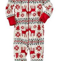 Matching Family Christmas Pajamas - Red & Green