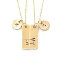 Friendship Necklaces for 2