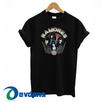 Ramones Vintage T Shirt Women And Men Size S To 3XL