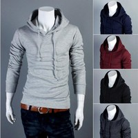 Hot Sale Hats Casual Men Hoodies Jacket [6528647491]