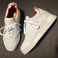 Christian Louboutin CL Style #2133 Sneakers Fashion Shoes Online