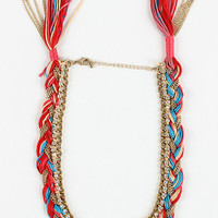 Chain Cluster Necklace
