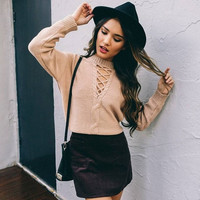 Autumn and winter pullover V-neck halter lace flower twist sweater coat female fall rotator cuff