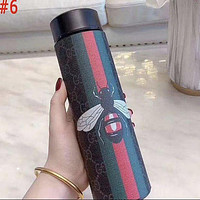 LV Louis Vuitton X MCM X Hermes GG Intelligent Digital Display Water Cup Temperature Measuring Thermos 304 Stainless Steel Male And Female Filter Tea Cup Thermos Colorful #6