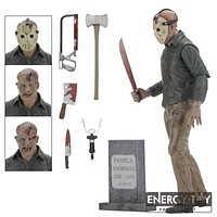"""Cartoon Friday The 13TH The Final Chapter Jason 7"""" PVC action figure doll model toy"""
