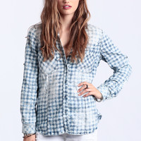 Bring It Back Button-Up Blouse