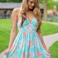 Open Skys Floral Dress