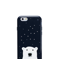 Kate Spade Sparkle Polar Bear Iphone 6 Case Rich Navy ONE