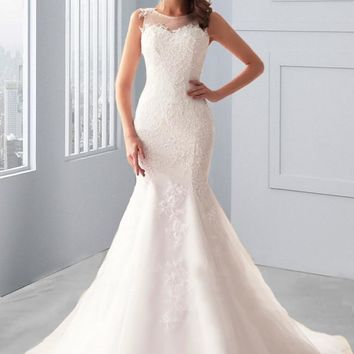 Ansonia Mermaid Wedding Dress