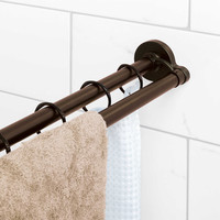 TITAN™ NeverRust™ Aluminum Double Straight Shower Rod