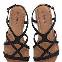 ModCloth Festival Strappy to Help Sandal