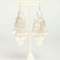 DANGLING METALLIC EARRINGS