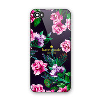 Cheap Rare Kate Spade Beauty Pink Floral Best Hard Case for iPhone 6 6s 7 (Plus)