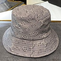 LV New fashion monogram print cap fisherman hat women