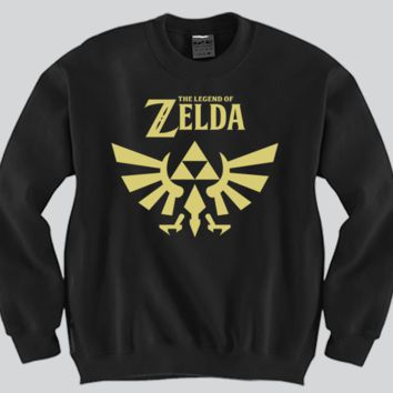 The Legend Of Zelda Unisex Crewneck Funny and Music