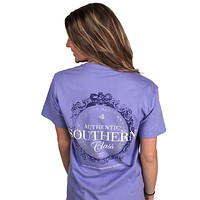 Southern Class Tee in Lilac Purple by Southern Marsh