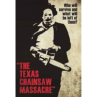Texas Chainsaw Massacre Poster 24x36