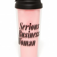 Serious Business Woman Hot Stuff Thermal Travel Coffee Mug - LAST ONE!