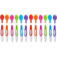 Munchkin 12 Piece Soft-Tip Infant Spoons