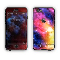 The Super Nova Neon Explosion Apple iPhone 6 LifeProof Nuud Case Skin Set