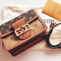 LV Louis Vuitton High Quality Fashion Women Shopping Leather Crossbody Satchel Shoulder Bag