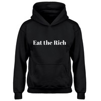 Youth Eat the Rich Kids Hoodie