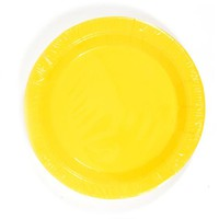 yellow dinner plate (8 count) Case of 36