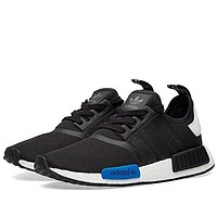 Adidas Originals Men's Primeknit NMD_R1 Running Shoes (Black)