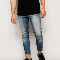 ASOS Skinny Jeans With Dirty Tint