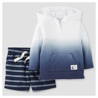 Baby Boys' French Terry Dip-dye Hoodie 2-Piece Set – Just One You™ Made by Carter's® : Target