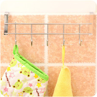 Innovative Stainless Steel Kitchen Metal Rack Hook Hanger [6395707332]