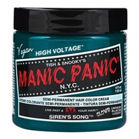 Manic Panic Classic Semi-Permanent Hair Colors - SIREN'S SONG + FREE GIFT OF 'DYE AWAY WIPES PACKETTE'!