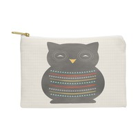 Allyson Johnson Native Owl 2 Pouch