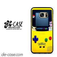 Gameboy Color Pokemon DEAL-4595 Samsung Phonecase Cover For Samsung Galaxy S7 / S7 Edge