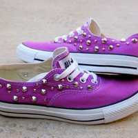 DCCKHD9 Orchid Studded Converse - The Converse Vans Look-Alike