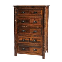 Barnwood Five Drawer Chest