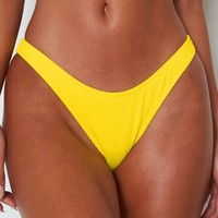 Del Marcos Bottoms Yellow Rib